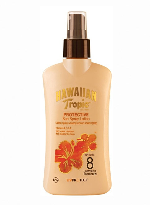 Hawaiian Tropic Protective Sun Spray Lotion Spf 8 Spray 200 Ml Renksiz